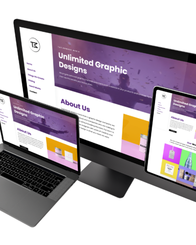 Web Design – TaylorMade Media