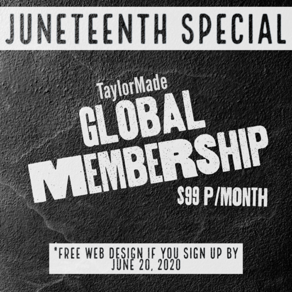 Juneteenth Special – Free Website for Black Owned Businesses
